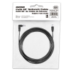 Alternate view 5 for Raygo 25ft Cat6 90 Degree Snagless Patch Cbl Black