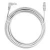 Alternate view 3 for Raygo 25ft Cat6 90 Degree Snagless Patch Cbl Gray
