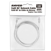 Alternate view 4 for Raygo 25ft Cat6 90 Degree Snagless Patch Cbl Gray