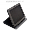 Alternate view 6 for rooCASE RC-GALX10-MA-BK Multi-Angle Leather Case