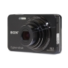 Alternate view 4 for Sony W570 Cyber-shot Black 16.1 MP Digital  REFURB