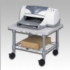 Alternate view 2 for Under-Desk Printer/Fax Stand - Gray