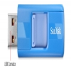 Alternate view 6 for SanDisk 8GB Cruzer USB 2.0 Flash Drive Blue