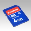 Alternate view 2 for Sandisk 4GB SDHC Class 2 Secure Digital