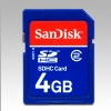 Alternate view 4 for Sandisk 4GB SDHC Class 2 Secure Digital