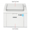 Alternate view 7 for Samsung ML2165W  WiFi Mono Laser Printer