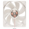 Alternate view 4 for SilenX Effizio Silent Blue LED 80mm Case Fan