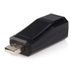 Alternate view 2 for StarTech Compact Black USB 2.0 to 10/100 Mbps Ethe