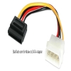 Alternate view 2 for StarTech 6&quot; Molex to SATA Power Cable Adapter