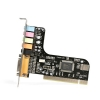 Alternate view 2 for StarTech 5 Channel PCI Sound Adapter Card
