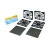 Alternate view 3 for Masscool 120mm ABS Plastic Foam Fan Filter - 2-Pac