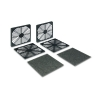 Alternate view 5 for Masscool 120mm ABS Plastic Foam Fan Filter - 2-Pac