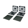 Alternate view 6 for Masscool 120mm ABS Plastic Foam Fan Filter - 2-Pac