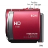 Alternate view 7 for Sony HDRCX210 Handycam HD Camcorder - Red