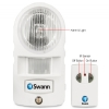 Alternate view 3 for Swann PIR Motion Light Alarm
