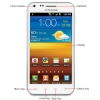 Alternate view 4 for Sprint Samsung Epic 4G Touch Locked GSM Cell Phone