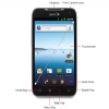 Alternate view 4 for Sprint LG Viper 4G LTE GSM Cell Phone