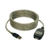 Alternate view 2 for Tripp-Lite 16ft USB 2.0 Active Extension Cable