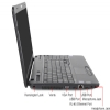 Alternate view 6 for Toshiba Satellite Pro 15.6&quot; Core i5 640GB Notebook
