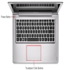 "Alternate view 6 for Lenovo IdeaPad U400 14"" Gray Notebook REFURB"
