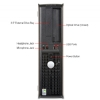 Alternate view 5 for Dell Optiplex Intel Refurbished Desktop PC