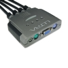 Alternate view 4 for Ultra GammaView 4005 4-Port PS/2 VGA KVM w/ Audio