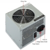 Alternate view 3 for OEM 450W ATX Power Supply