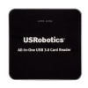 Alternate view 4 for USRobotics USB 3.0 All-In-One Card Reader