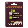 Alternate view 5 for USBCELL AA Rechargable Battery - 2 Cell Pack