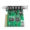 Alternate view 3 for Ultra 8 Port USB 2.0/Firewire PCI Combo Card
