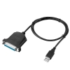Alternate view 3 for Ultra 6ft/1.8m USB to DB25 Female Parallel Adapter