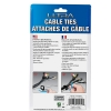 Alternate view 4 for Ultra 6-Inch Hook and Loop Cable Mgmt Straps 50pk