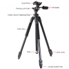 Alternate view 7 for Vanguard Espod 203AP Aluminum Tripod