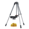 Alternate view 3 for Vanguard 204SL Nivelo Silver Compact Tripod