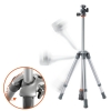 Alternate view 4 for Vanguard 204SL Nivelo Silver Compact Tripod