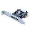 Alternate view 2 for Vantec 3 Port FireWire 800 / 400 Combo PCIe Card