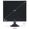 "Alternate view 5 for Viewsonic 22"" Wide 1080p LED, Speakers, VGA, DVI"