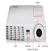 Alternate view 5 for Vivitek D538W-3D WXGA Widescreen DLP 3D Projector