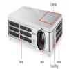 Alternate view 3 for Vivitek Qumi Q2 WXGA 3D LED Pocket Projector White