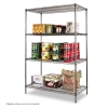 Alternate view 2 for Alera� Black Anthracite Wire Shelving Ki