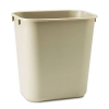 Alternate view 2 for Rubbermaid 295500BG Rectangular Wastebasket