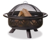 "Alternate view 2 for Blue Rhino 36"" Oil Rubbed Bronze Outdoor Firebowl"