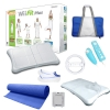 Alternate view 2 for Nintendo Wii Fit Plus Blue Super Bundle