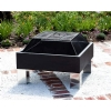 Alternate view 2 for Fire Sense Square Fire Pit-60454