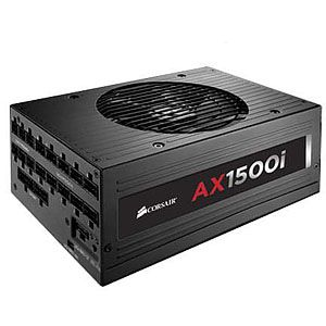 Alternate view 1 for Corsair AX1500i - Digital 1500 Watt Power Supply