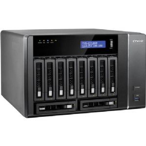 Alternate view 1 for QNAP 10 Bay NAS - TVS-EC1080-I3-8G-US