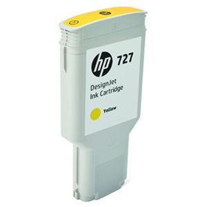 HP 727 - dye-based yellow - original - DesignJet