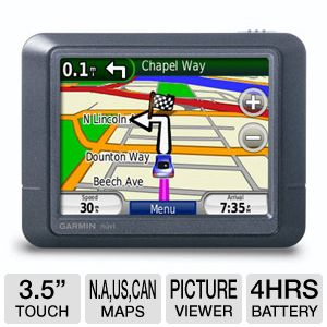 "Garmin Nuvi 255 3.5"" GPS - Refurbished"