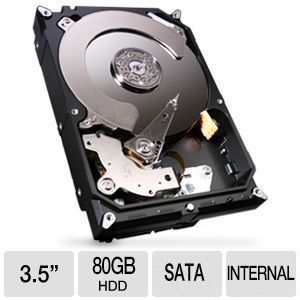 Famous Brand 80GB Hard Drive