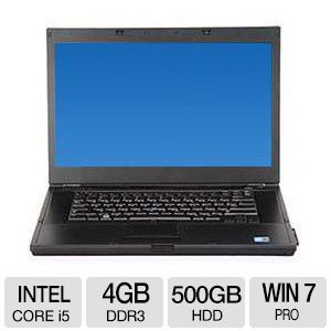 Dell E6510 Notebook - Core i5, 4GB, 15.6""